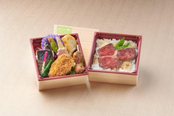 女性向け  華稀(はづき)弁当 ~黒毛和牛ステーキ~