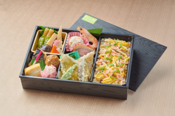 ちらし寿司御膳~ちらし寿司と天ぷら~